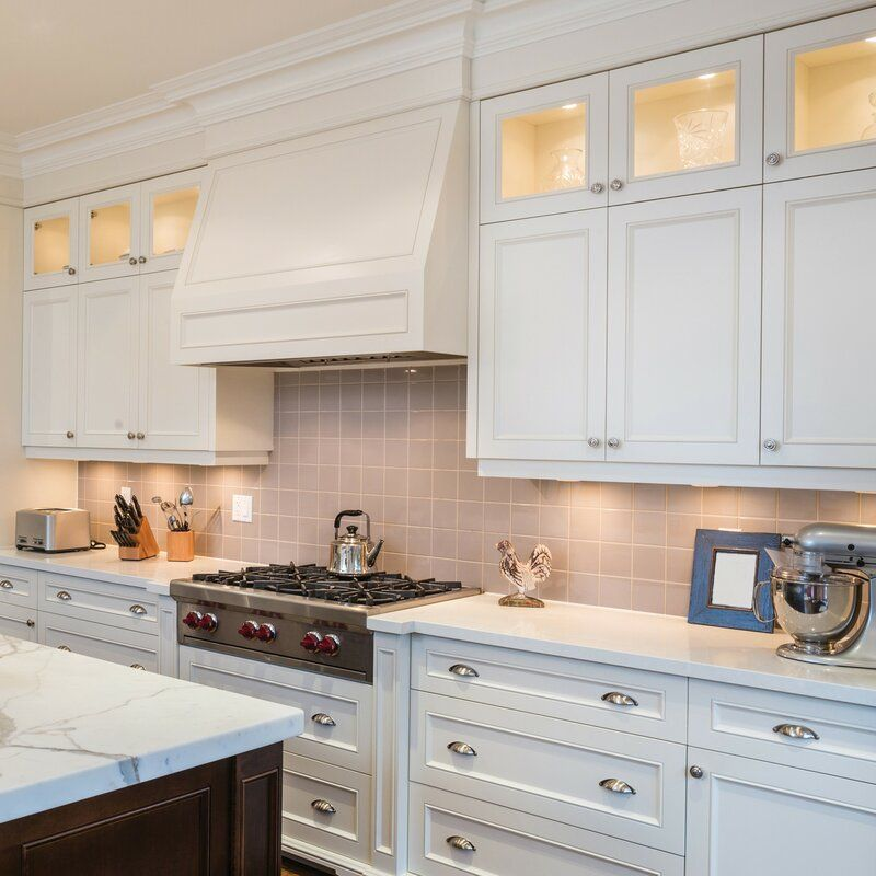 Globe Electric Company Slim Led Under Cabinet Puck Light Wayfair In 2020 New Kitchen Cabinets Kitchen Cabinet Trends Kitchen Design