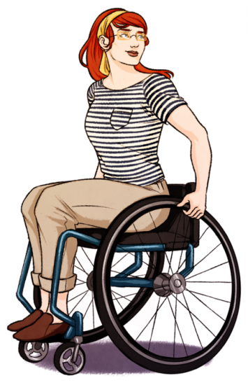 Illustrating Wheelchairs Wheelchair Superhero Art Designs To Draw