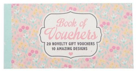 This Voucher Book from @typoshop Garden City would make a great - make voucher