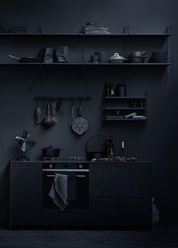 Resultado de imagen para black interior design