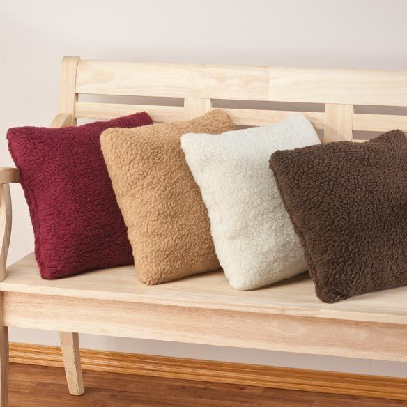 Sherpa Throw Pillow