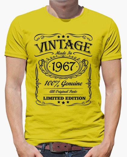 Camiseta Vintage made in 1967  56ed8e5df67ab