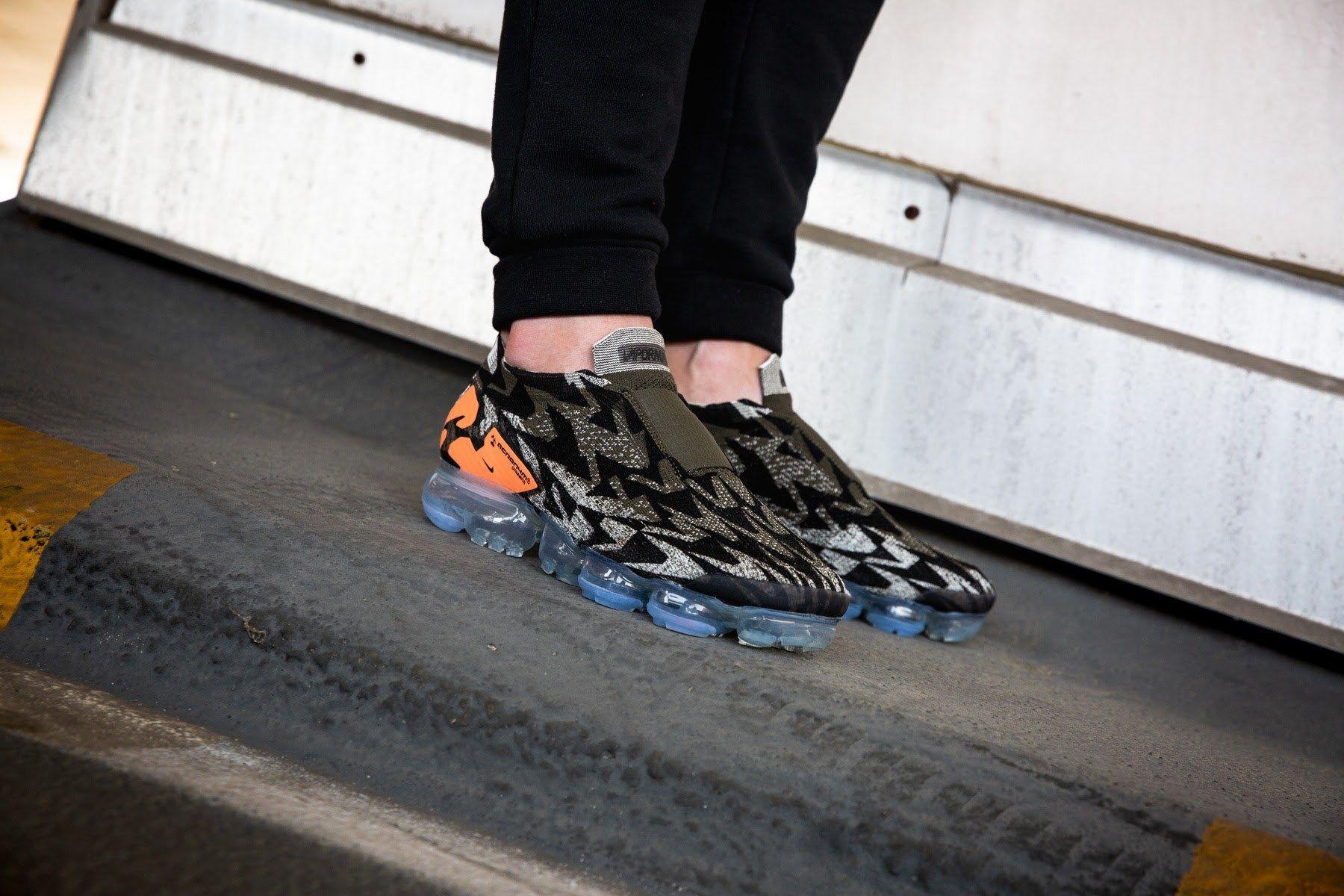 fba8ec25c1 ACRONYM x Nike Air VaporMax Flyknit Moc 2 Dark Stucco - EU Kicks: Sneaker  Magazine