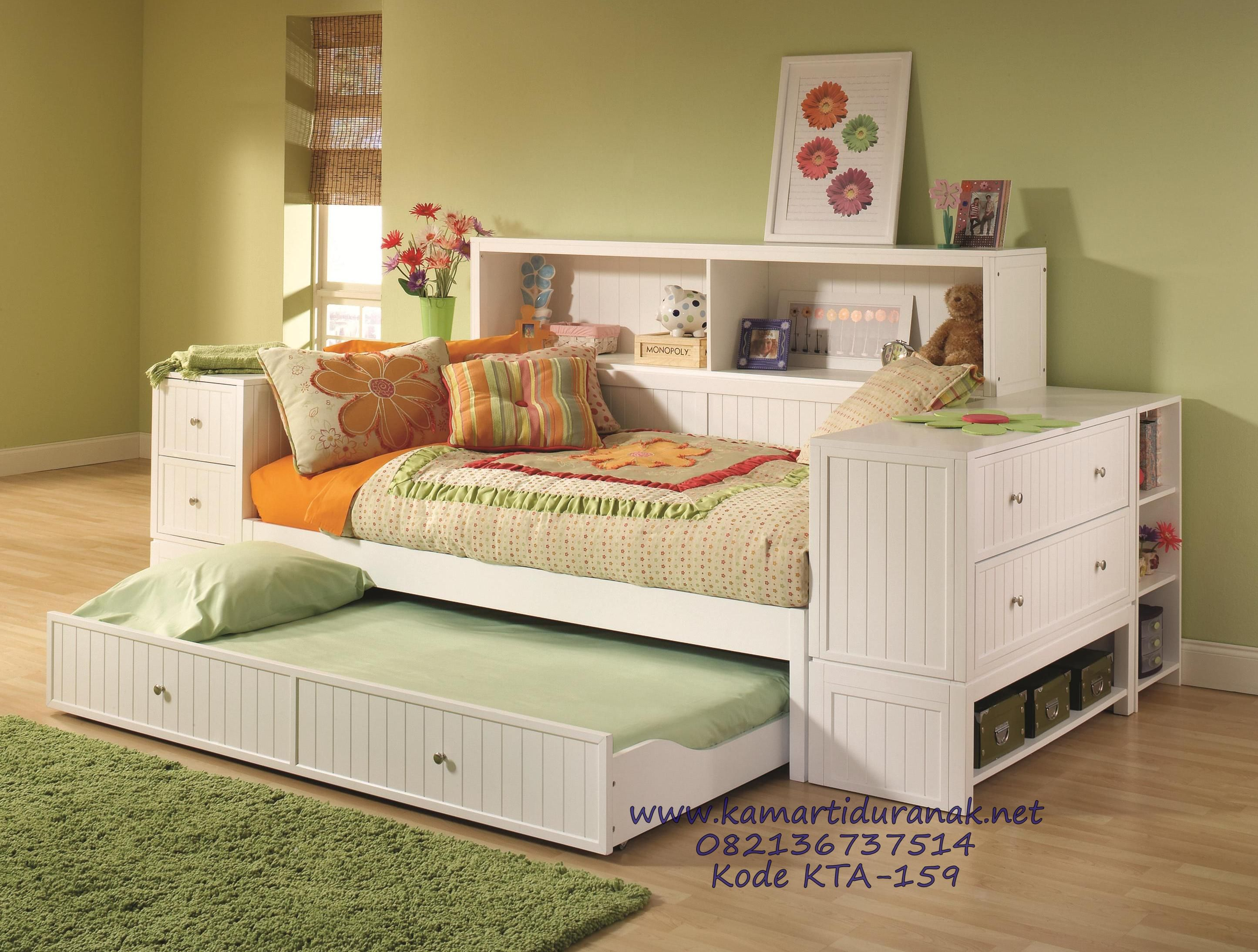 ashley delburne furniture hut full brown texas by medium kids bed daybed bookcase storage