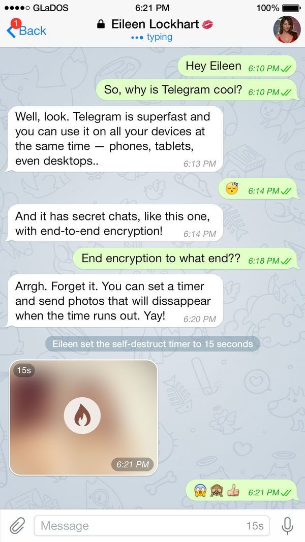 Telegram Messenger on the App Store App, scams