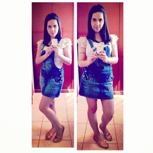 http://blogmarinaandrade.com/2014/01/13/tendencia-jardineira-jeans-4/ #tendência #jardineirajeans #blogmarinaandrade