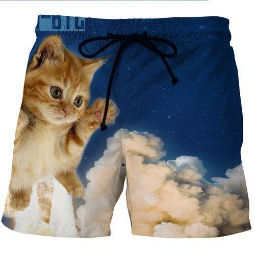 2321055847a51 Men Quick Drying Bermuda 3D Print Masculina Men Shorts | Products ...