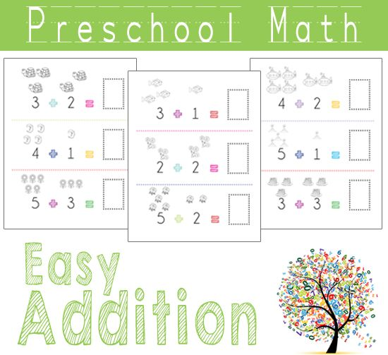 10+ images about Preschool - Addition on Pinterest | Kindergarten ...