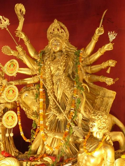 golden durga    http://fineartamerica.com/featured/goddess-durga-karuna-ahluwalia.html