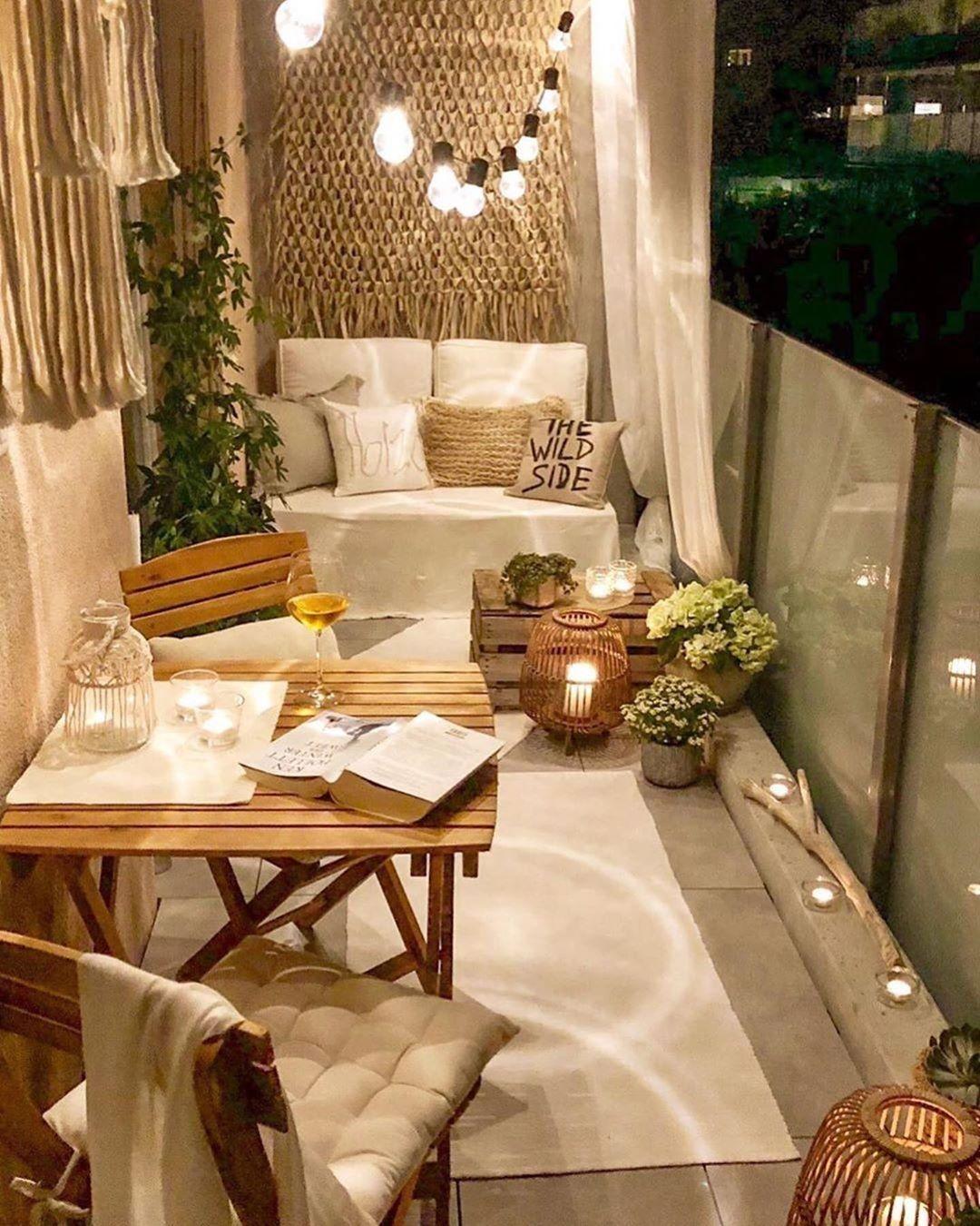apartmentbalconydecorating  Balcony decor, Small balcony decor