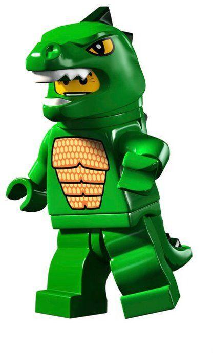 Lego Minifigures Series 5 Man in Dinosaur Suit