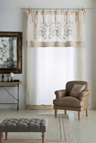 Mantovana ecr idee per decorare la casa disegni della for Decorazioni tende