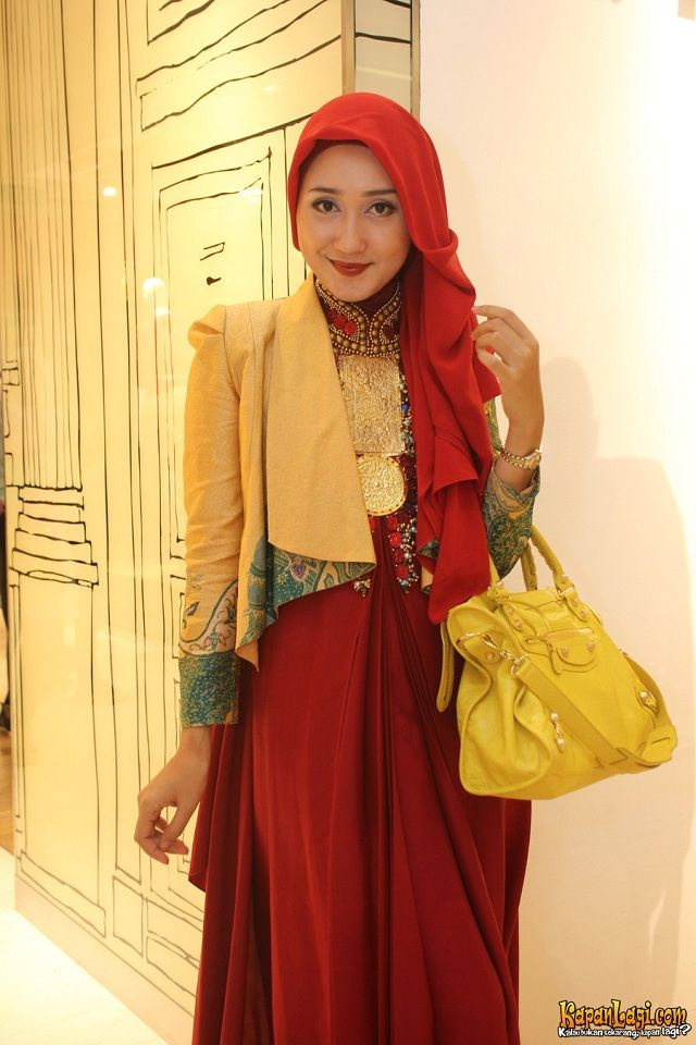Dian Pelangi Dress Hijab Fashion Fashion Hijab Collection