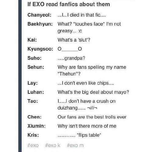 Image via We Heart It #asia #asian #Chen #epic #exo #funny - next line küchen