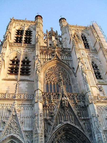Saint Vulfran Cathedral Abbeville France