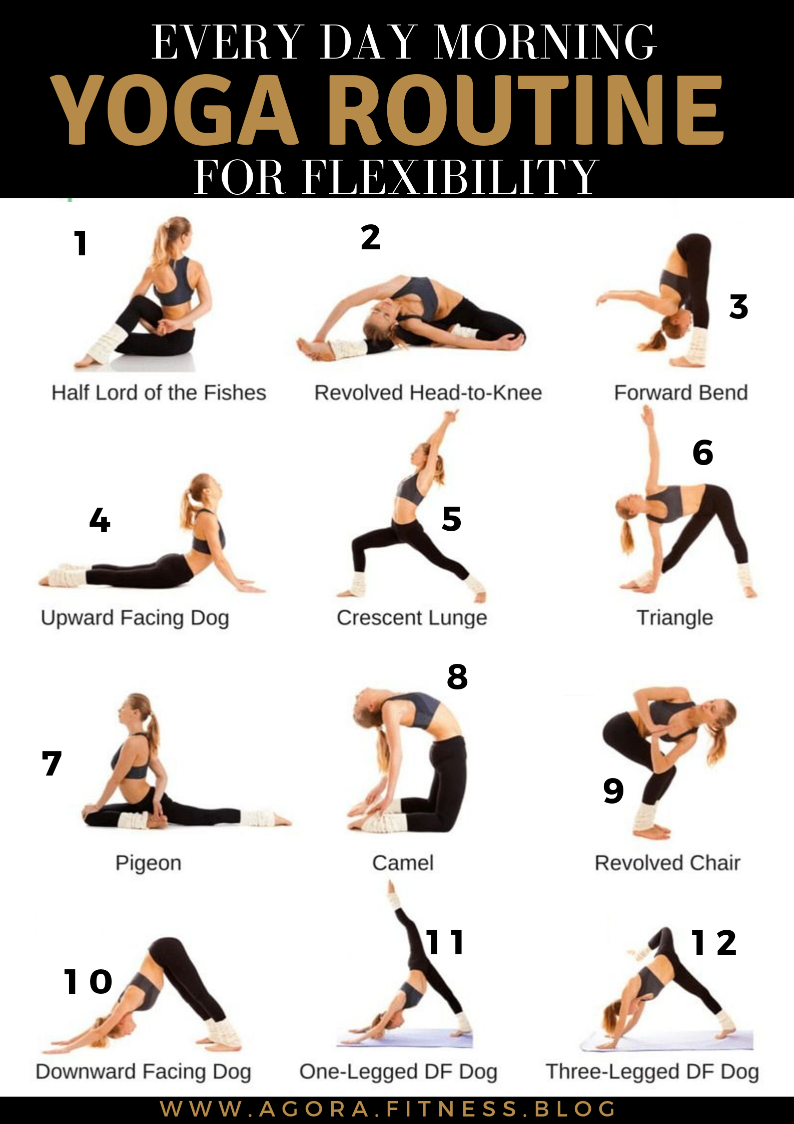 Every day morning yoga routine for flexibility