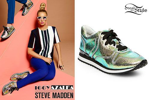Iggy Azalea: Steve Madden Shoes