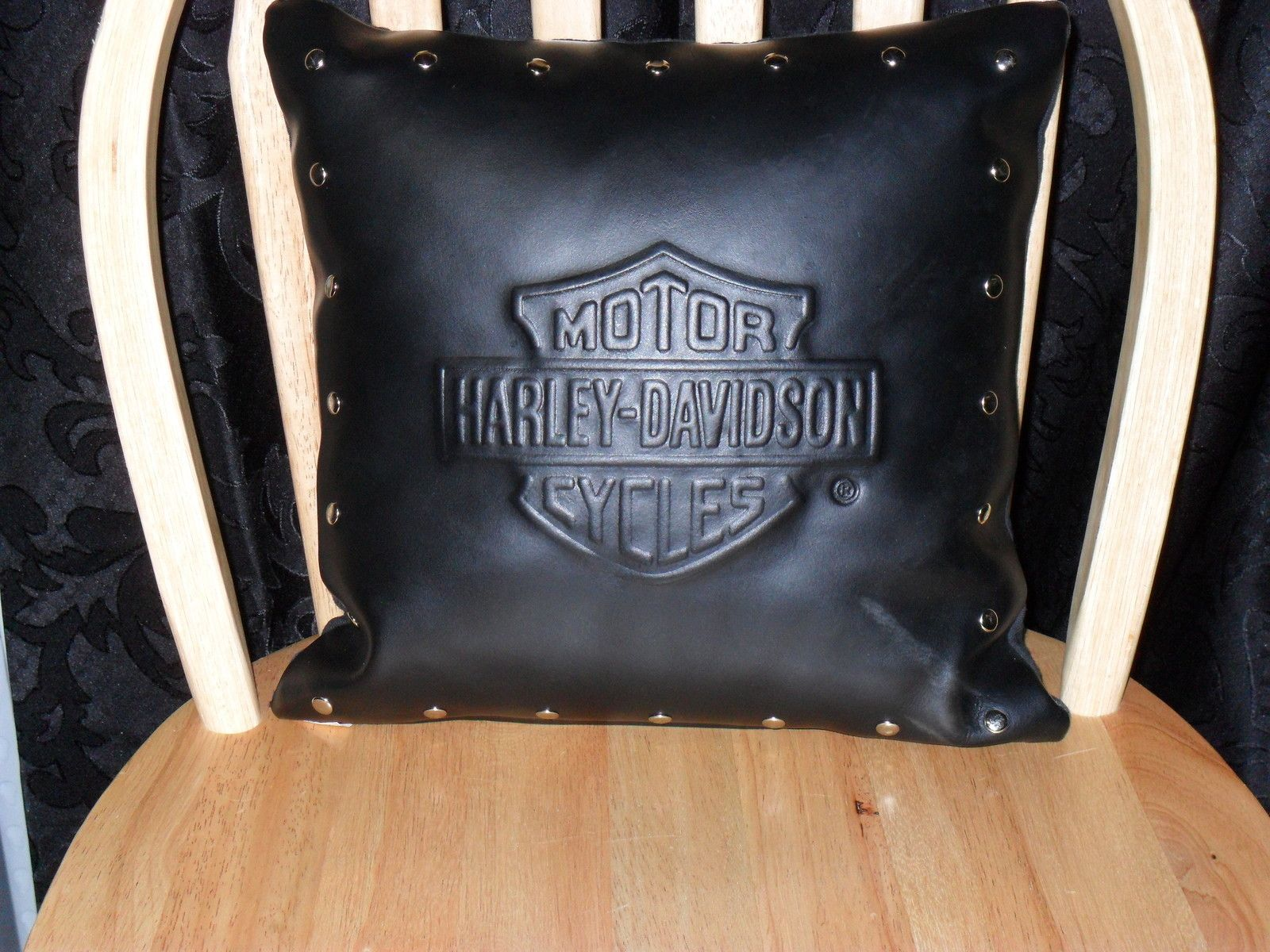 HD Leather Pillow