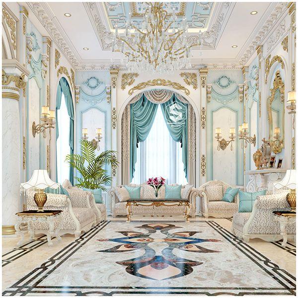 Luxury Mansion Interior Qatar On Behance: Palace Interior, Luxury House