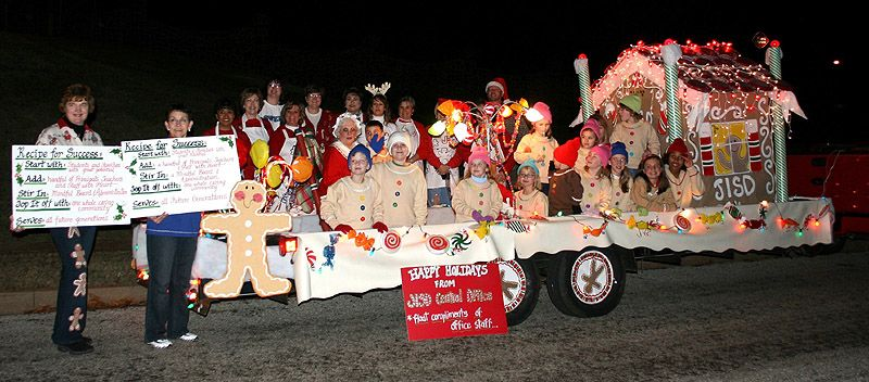 christmas parade float themes theme of the gingerbread house for the jacksonville christmas parade