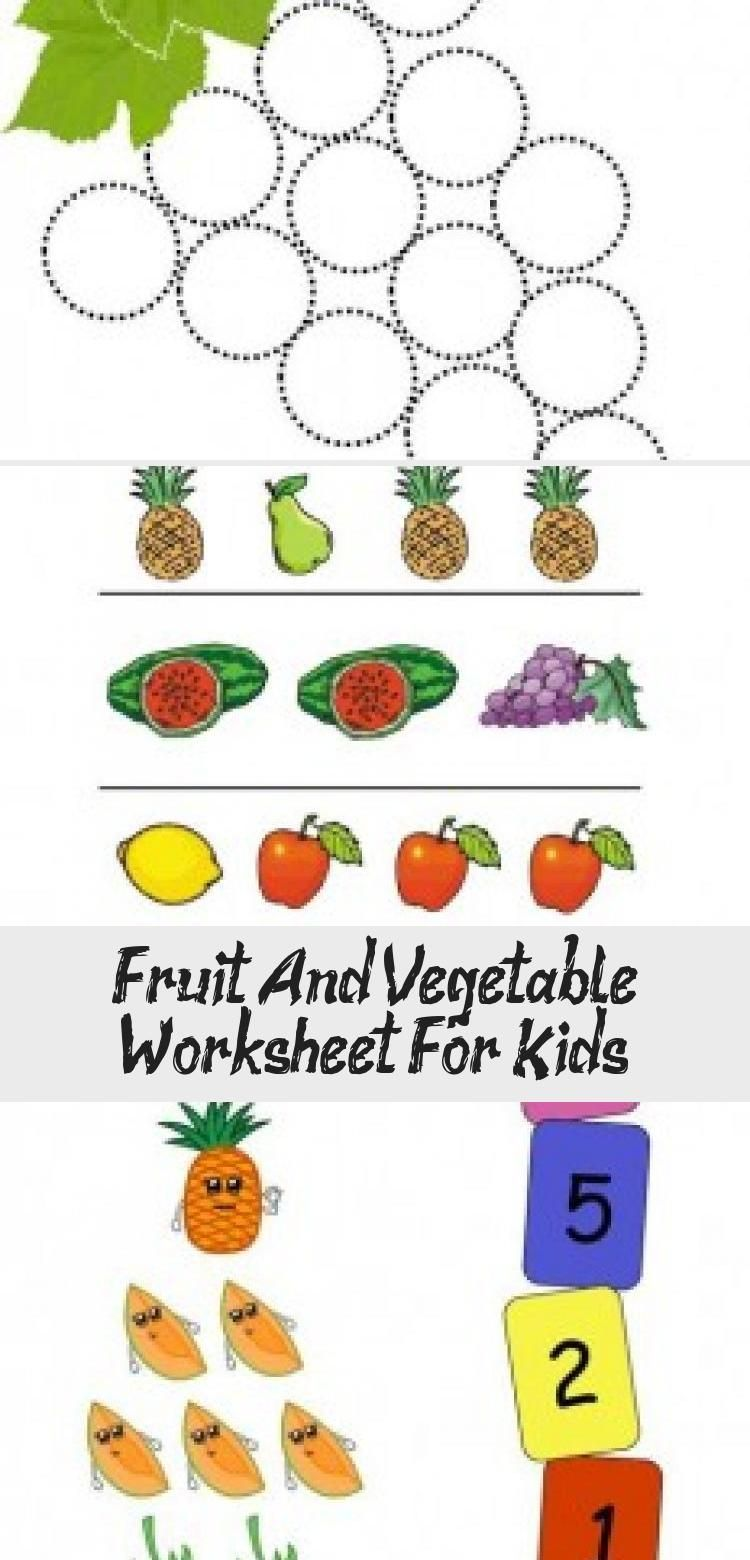 Fruit And Vegetable Worksheet For Kids Crafts And Worksheets For Preschool Toddler And Kindergarten Diy Kids Toys Fruits And Vegetables Worksheets For Kids [ 1560 x 750 Pixel ]