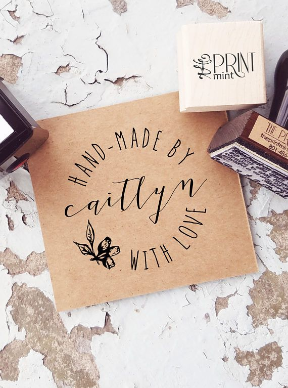 Made By Stamp Handmade By Rubber Stamp Custom Made By Stamp Made