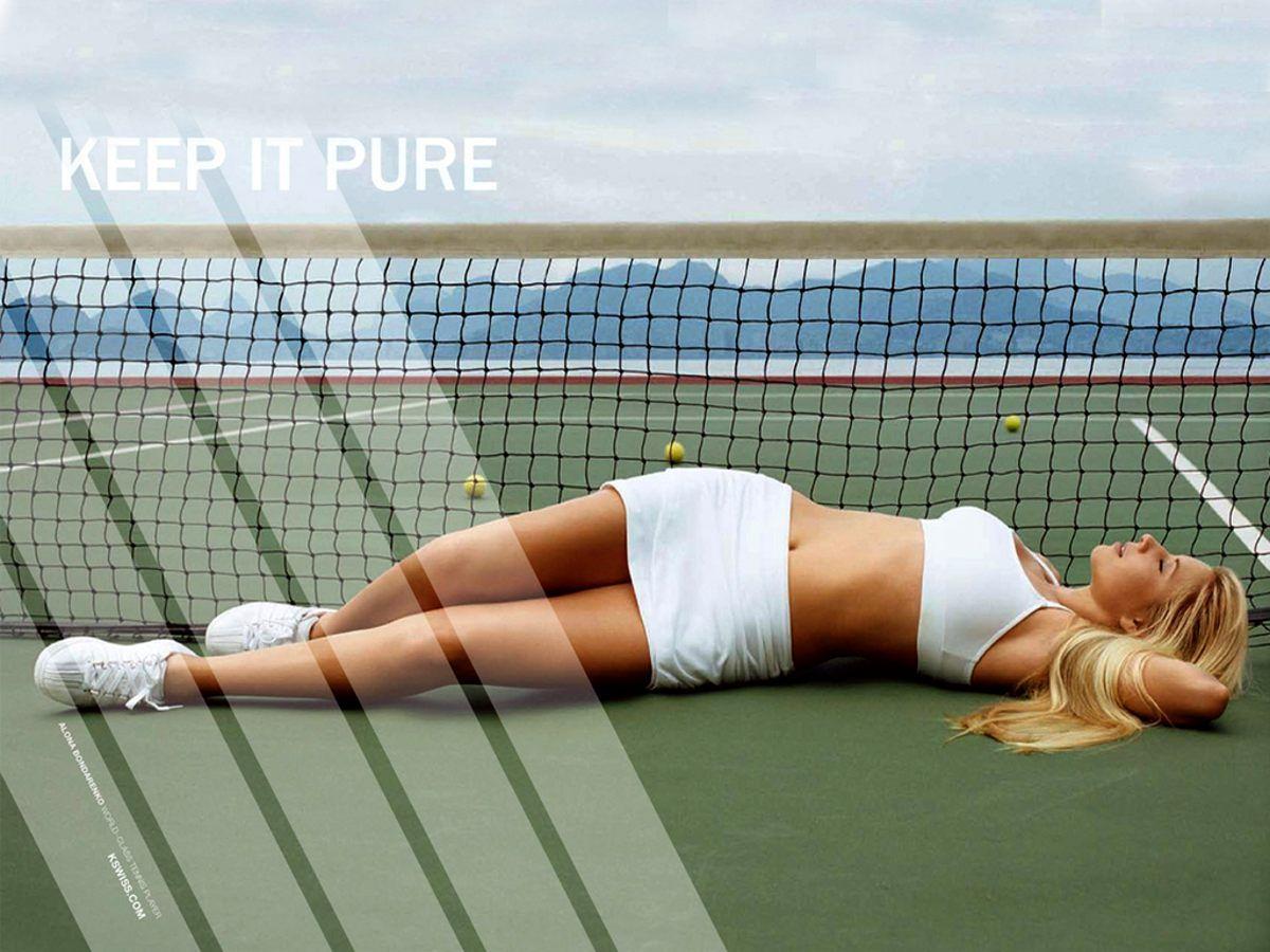 Секс после игра теннис 1 фотография