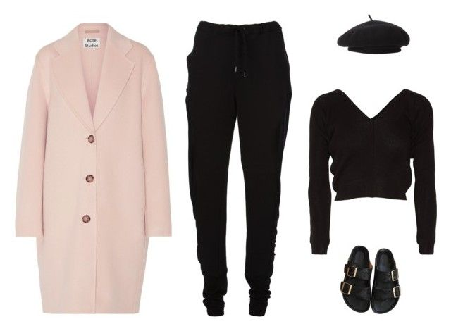 """""""Untitled #5562"""" by amberelb ❤ liked on Polyvore featuring Chalayan, Ballet Beautiful, Acne Studios, Parkhurst and Étoile Isabel Marant"""