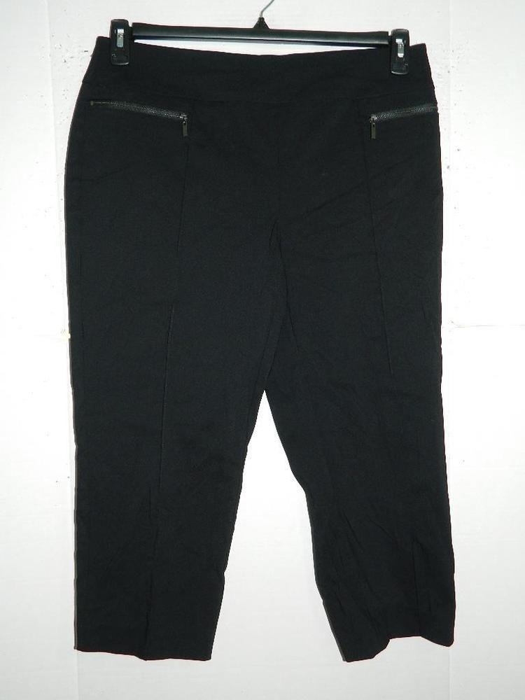452186de38c WPA2789 Style co Women Plus Comfort Waist Mid Rise Capri Pants NWT Size 16W  X 22