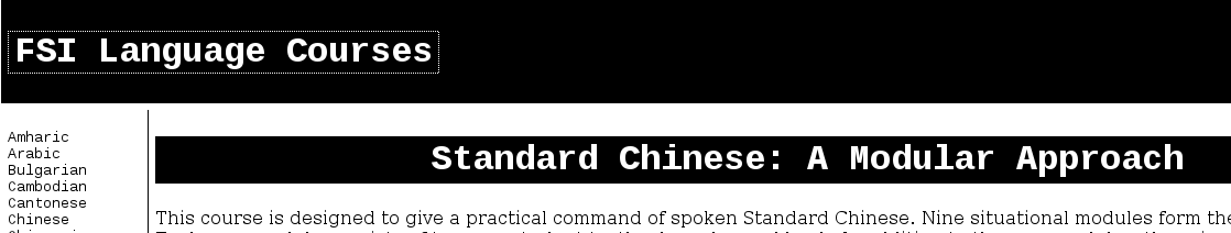 LISTENING* FSI Language Courses #Mandarin #Chinese | Chinese