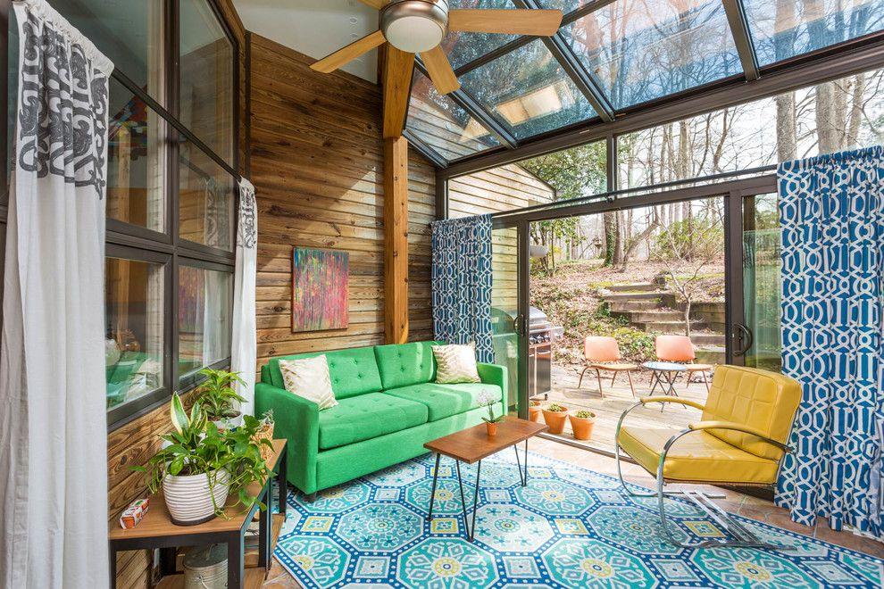 Best 16 Amazing Mid Century Modern Sun Room Designs To Chill 640 x 480