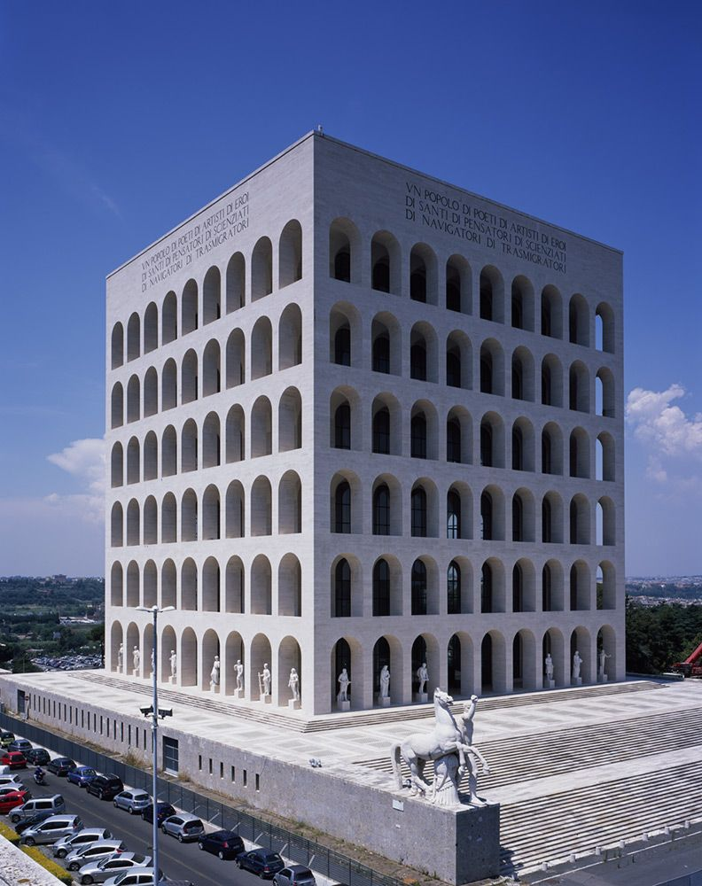 Find Out About Fendi 039 S Global Office The Palazzo Della Civita Italiana Including Stunning Footage Of Opening New Headquarters With A