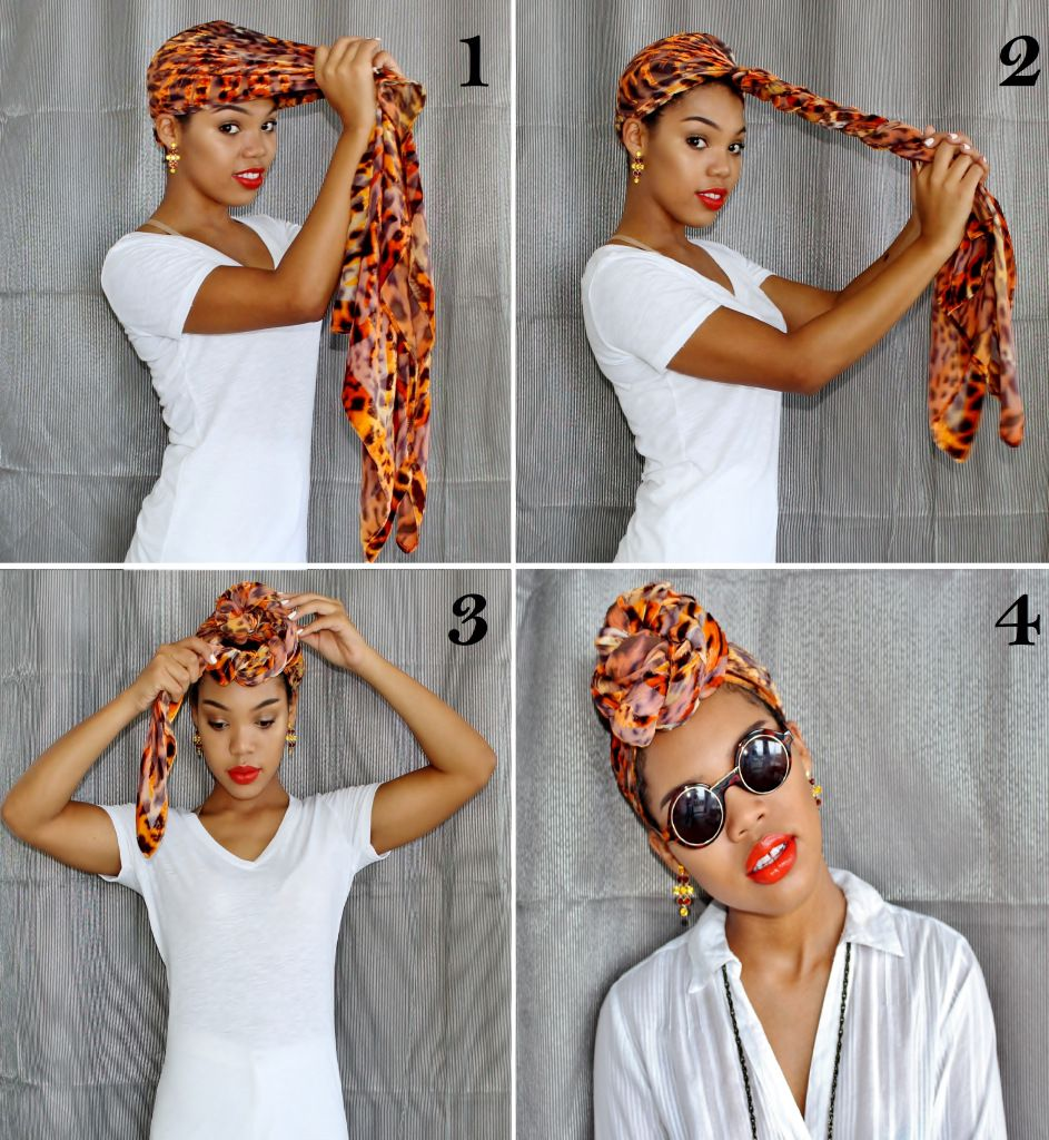 How To Tie A Turban €� A Step By Step Guide €� Stylishlee #fashionblogger #