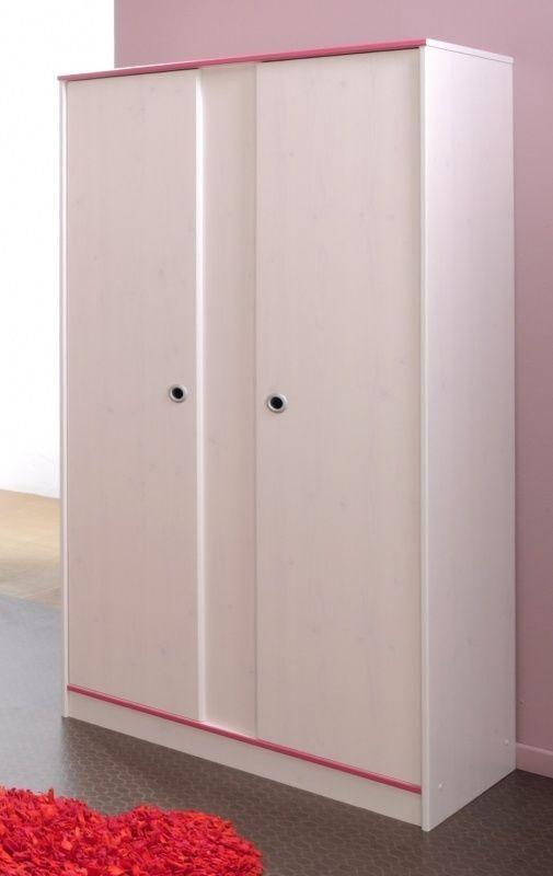 Smoozy Kinder Kleiderschrank 2 Turig Tall Cabinet Storage