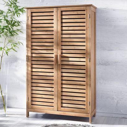 Badschrank Bambus Ikea