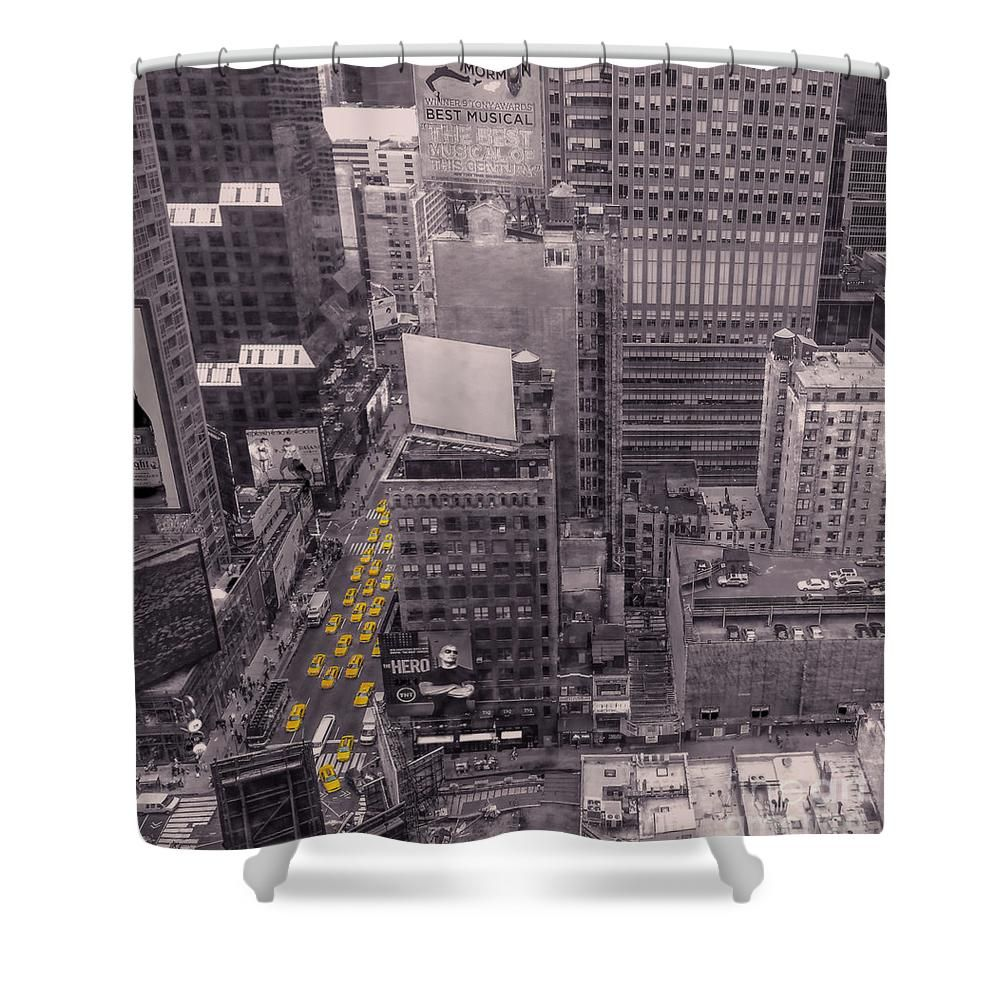 Overwhelm Me New York Shower Curtain For Sale By Charlie