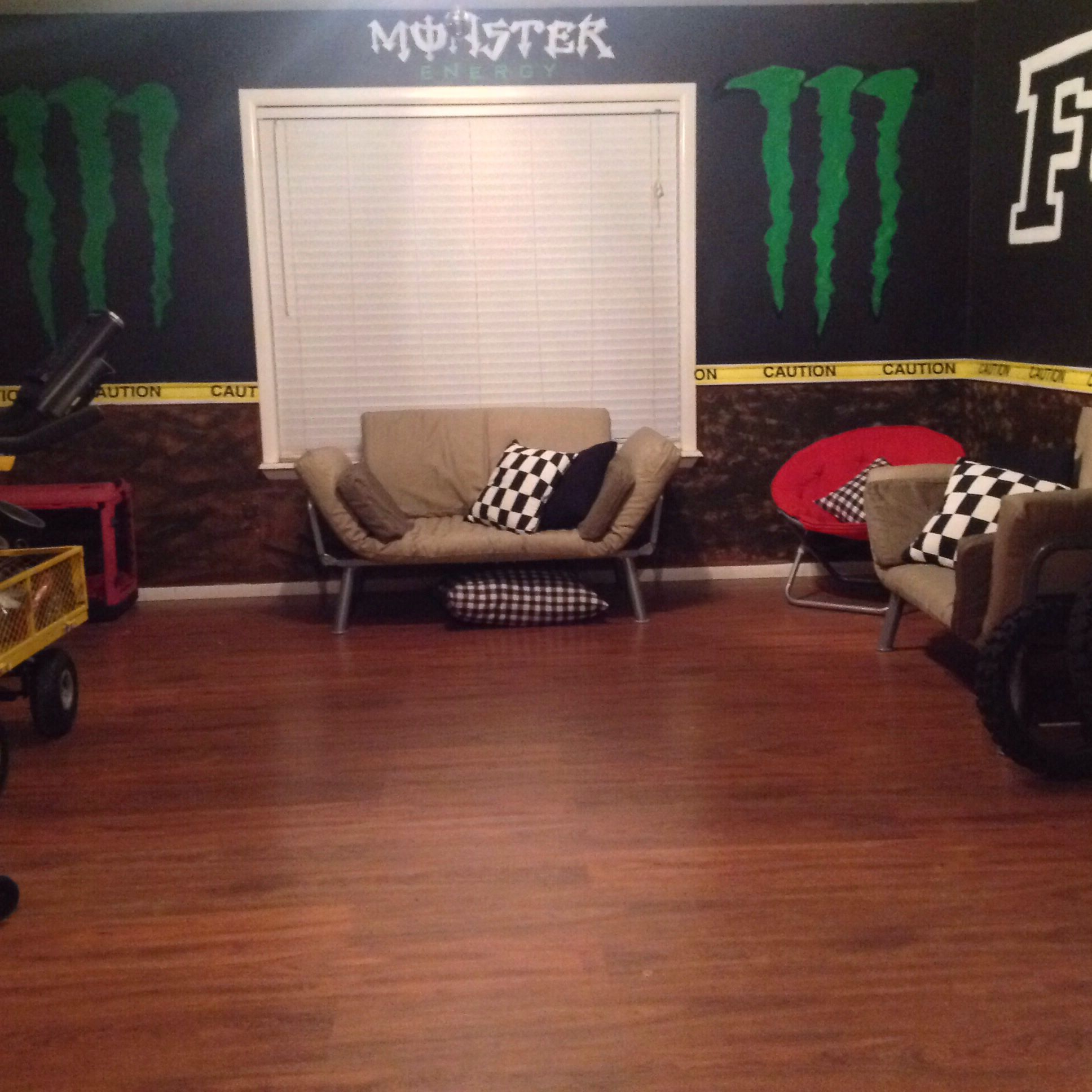 Man Cave Bedroom: My Motocross Man Cave