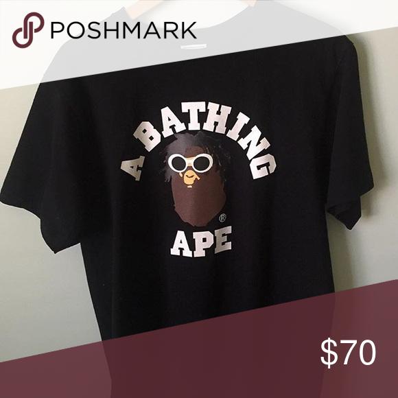 333d06599 BAPE Tshirt BAPE X Wiz Khalifa Collab Bape Tops Tees - Short Sleeve ...