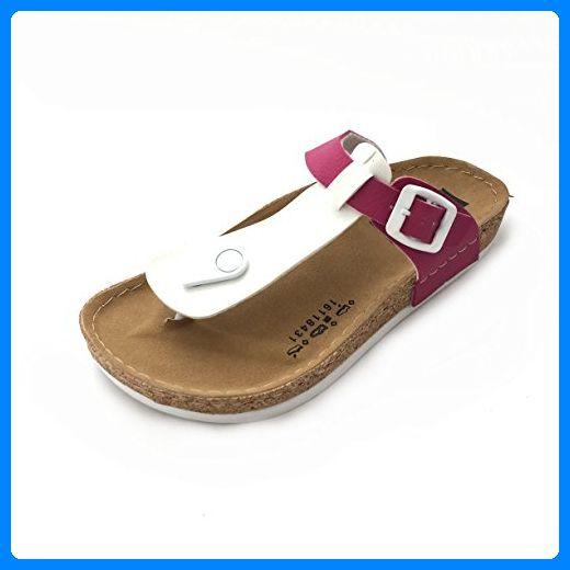new style 235c3 1ad94 Gezer Damen Pantolette Sandale Slipper Zehentrenner Schuhe ...