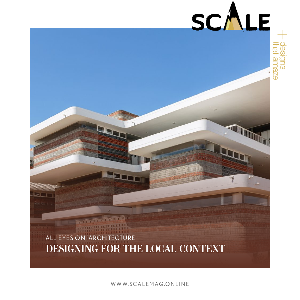 Designing For The Local Context Design Architecture Building Design
