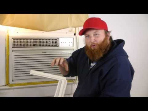 Burglar Proof A Window Air Conditioner Unit Video Learn How To Secure Your Window Ac Unit So It Can T Be Window Air Conditioner Burglar Proof Window Ac Unit