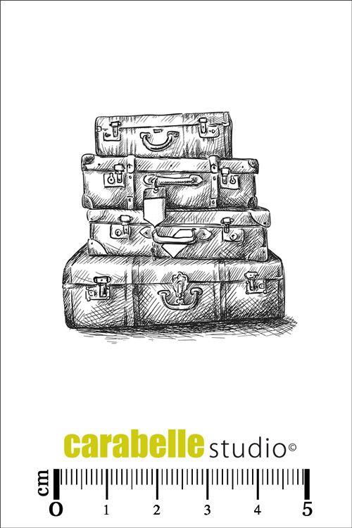 Tampon valises en vente sur notre boutique en ligne - Boutique loisirs creatifs en ligne ...