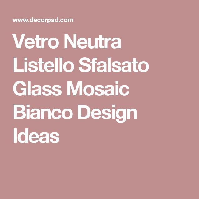 25 Absolutely Gorgeous Transitional Style Kitchen Ideas: Vetro Neutra Listello Sfalsato Glass Mosaic Bianco Design