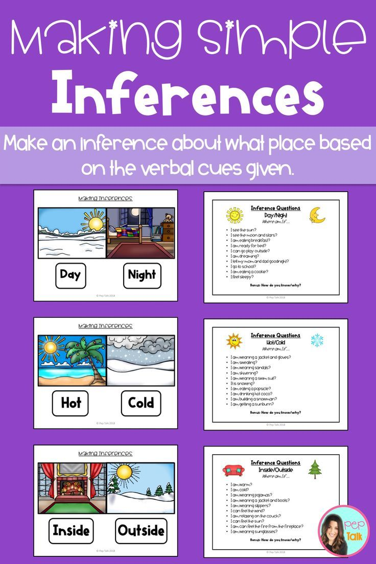 Making Simple Inferences with Where Question Visuals
