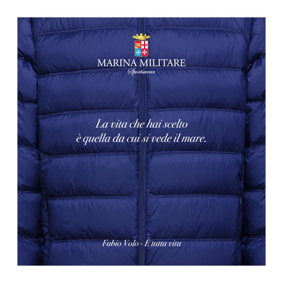 """""""La vita che hai scelto è quella da cui si vede il mare"""" (Fabio Volo, È tutta vita) #MarinaMilitareSportswear #quotes #mare #sea #sportswear"""