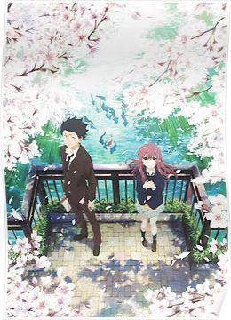 Koe no Katachi Poster Poster