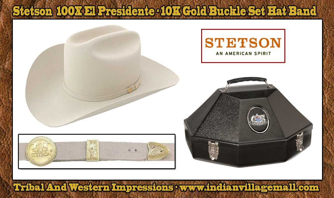 cbd0f3aa1ff Stetson 100X El Presidente Silverbelly  995.00 The Cowboy Western Hat Of  Presidents And Kings- Review off of  ...
