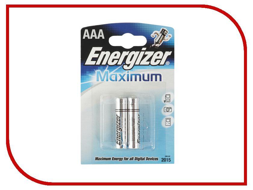 Батарейка AAA-Energizer Maximum LR03/E92 (2 штуки)