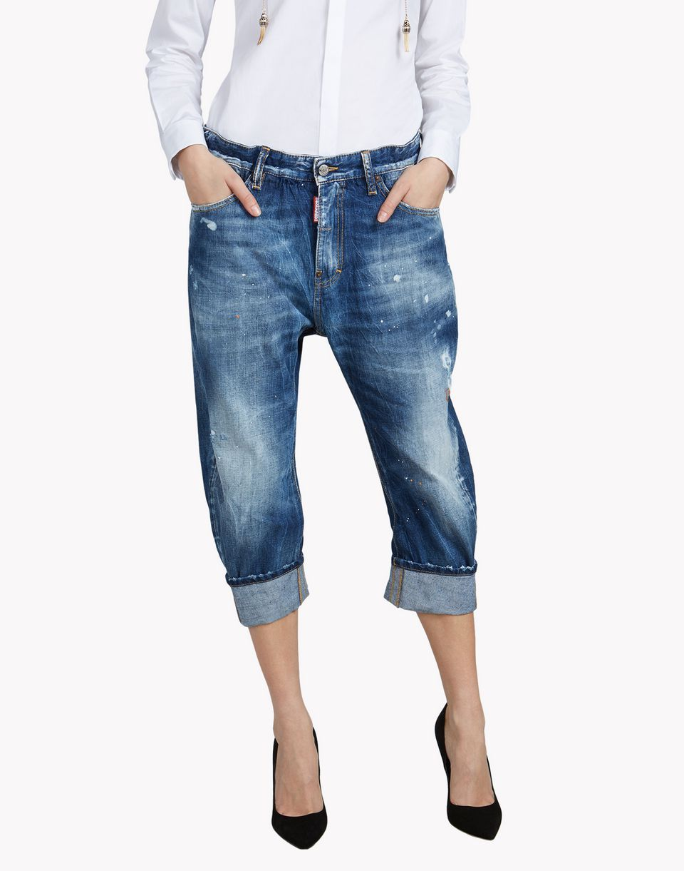 Big Brother s Dean Jeans - Jeans Women - Dsquared Official Online Store 5aebcfe62b5