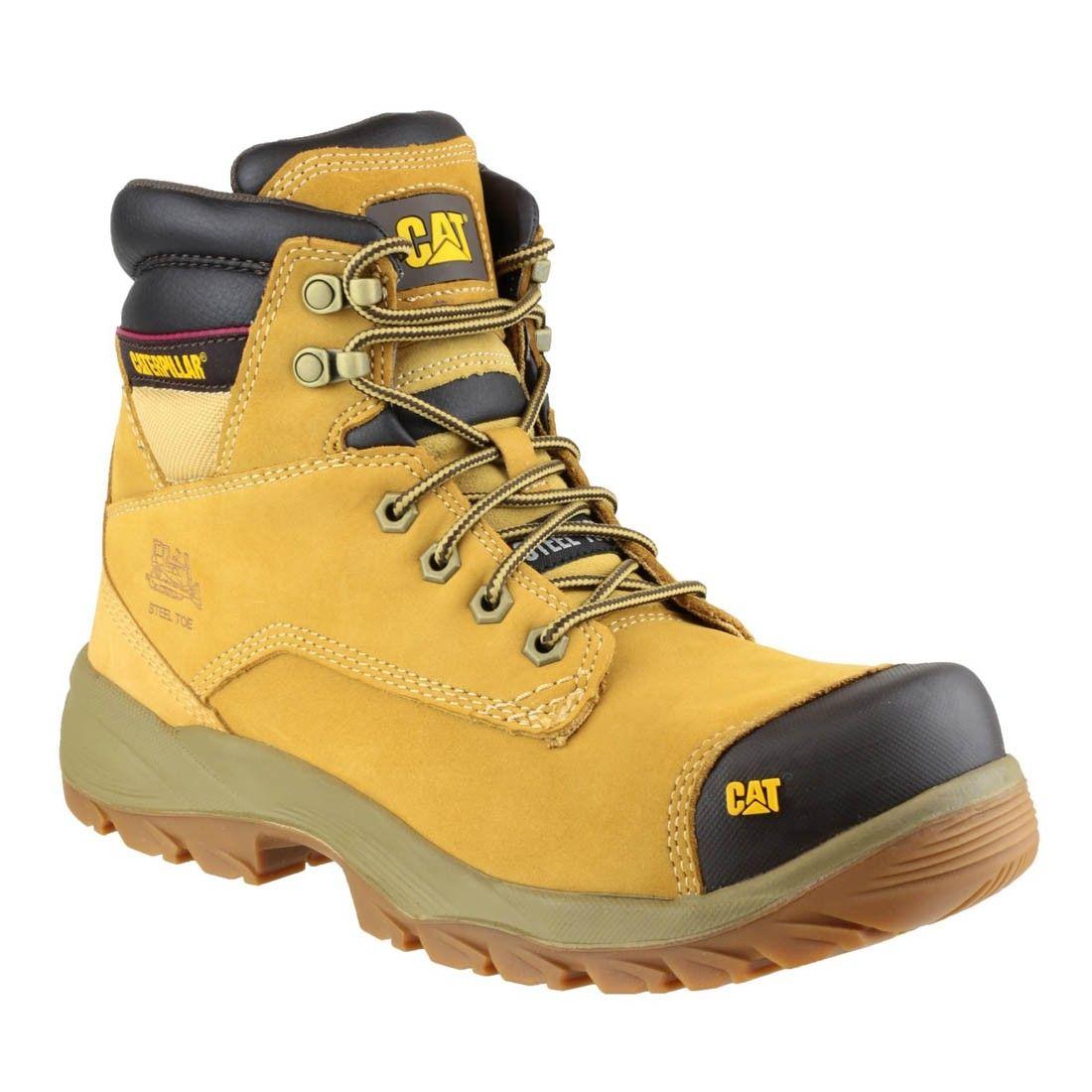 e95f992a927 Caterpillar Spiro Honey Nubuck Work Boots | Men & Women Hiking Boots ...